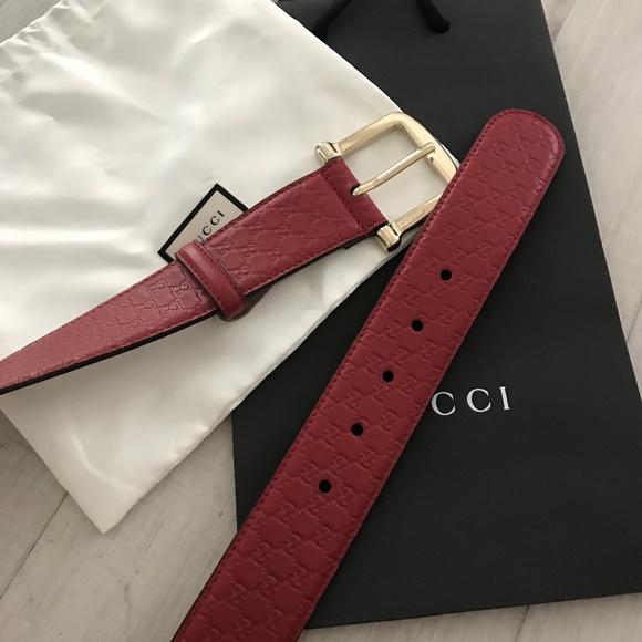 59f19b5d83d Gucci Accessories - Authentic Gucci Womens 281548 GG Guccissima Belt